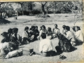 Counseling sessions in the park with exploited women, when Odanadi had no office yet