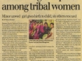 Tribal girls vulnerable to trafficking-2007