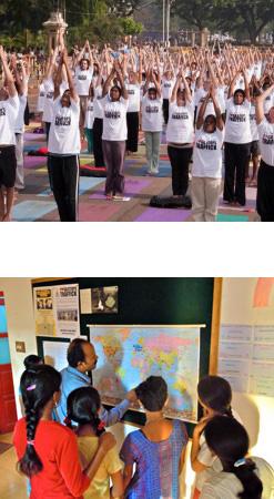 Yoga Stops Traffick