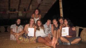 Odanadi Sweden presentation in Ecuador, Wisdomforest